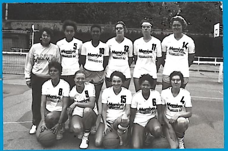 13- Versailles 1982-1983 5ème champt Nat 1