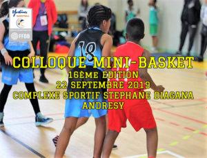 Colloque Mini-Basket 2019