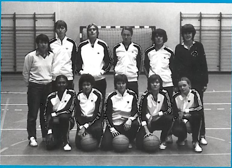 12- Versailles 1981-1982 1ère Poule Nat 2 accède en Nat 1