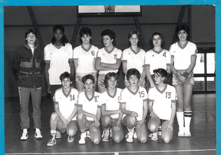 23- Versailles cadettes 1 en 1984-1985