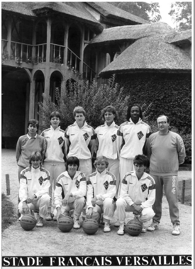27- Stade Français Versailles 1986-1987