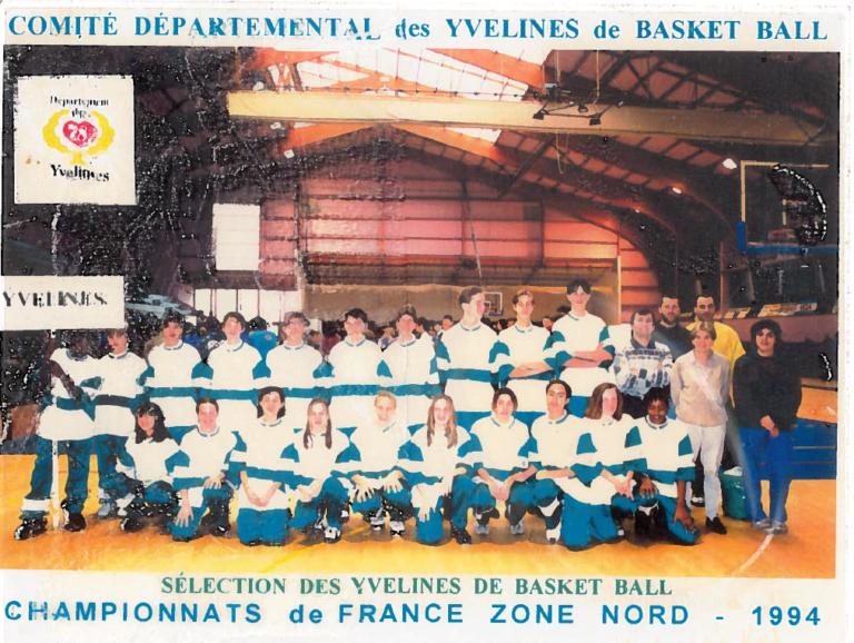 36- Versailles 1994 championnat de France zone nord
